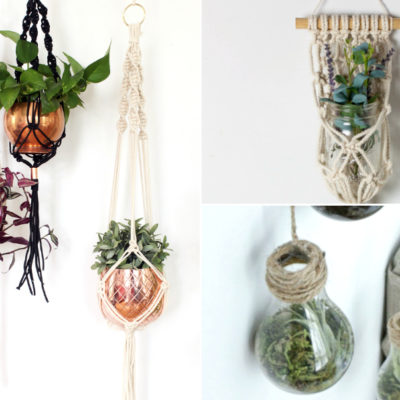 9 D.I.Y. PLANT HANGERS YOU NEED IN YOUR HOME